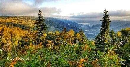 Highland Scenic Highway Overlook by @cutlip.jeremy